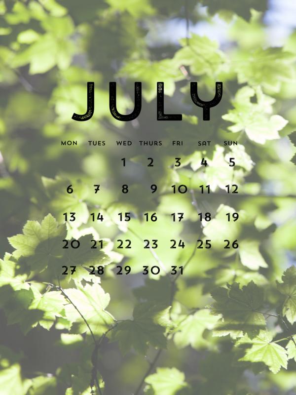 julycalendarsmall